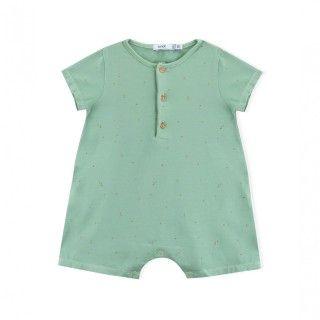 Barboteuse bebé algodão orgânico Basil Seeds 5609232457436