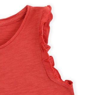 Girl short sleeve t-shirt organic cotton Miriam 5609232438428