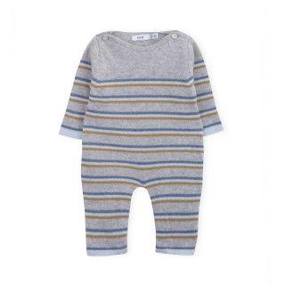 Newborn knitted jumpsuit Jaden 5609232489314