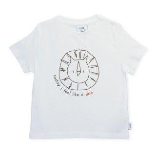 T-shirt short sleeve baby organic cotton Lion 5609232576618