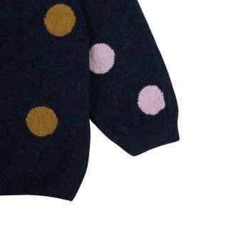 Camisola menina lã Polka Dots 5609232493816