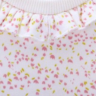 Sweatshirt terry baby Flowers 5609232488621
