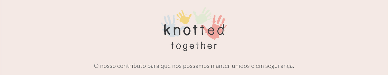 knotted together