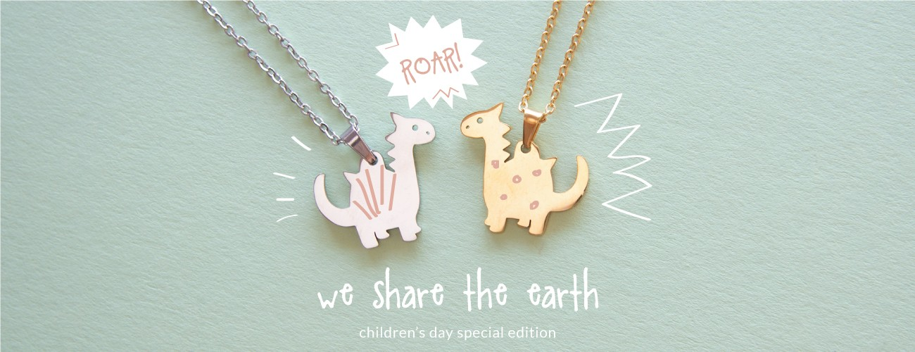 children's day special edition | selection of nine mmi stainless steel necklaces