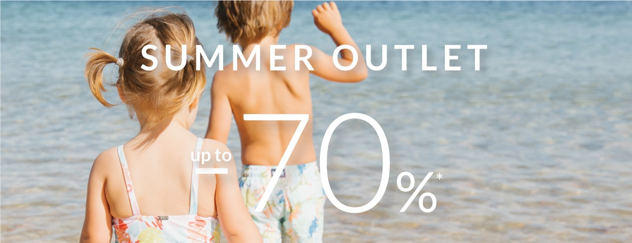 Summer Outlet with discounts up to -70%