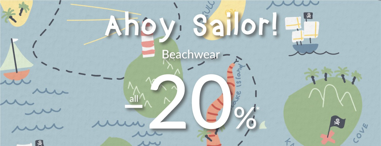 beachwear collection with -20% discount