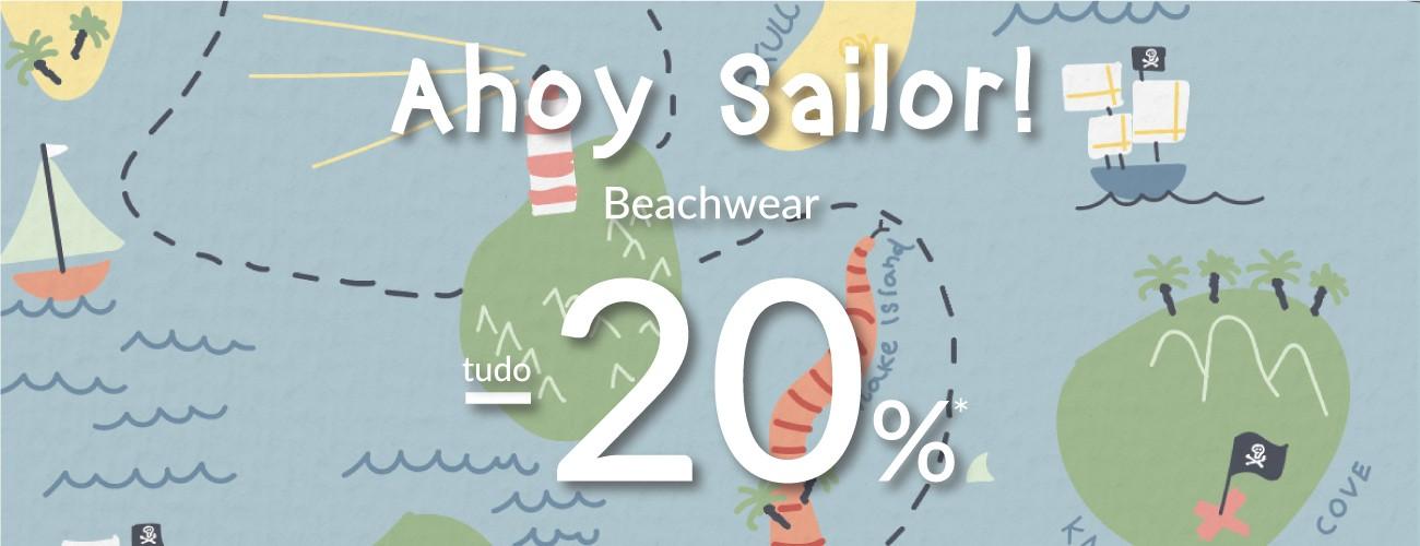 coleção de praia com desconto -20%