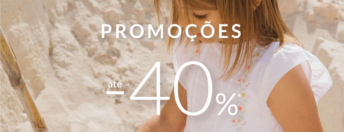promoções de primavera até -40%