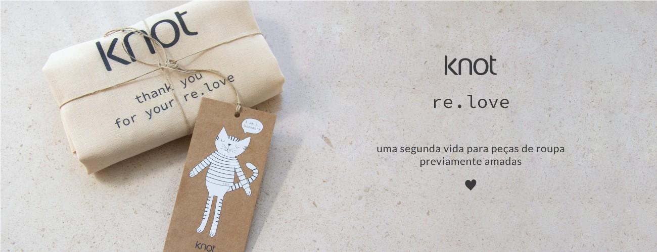projeto knot de roupas em segunda mão