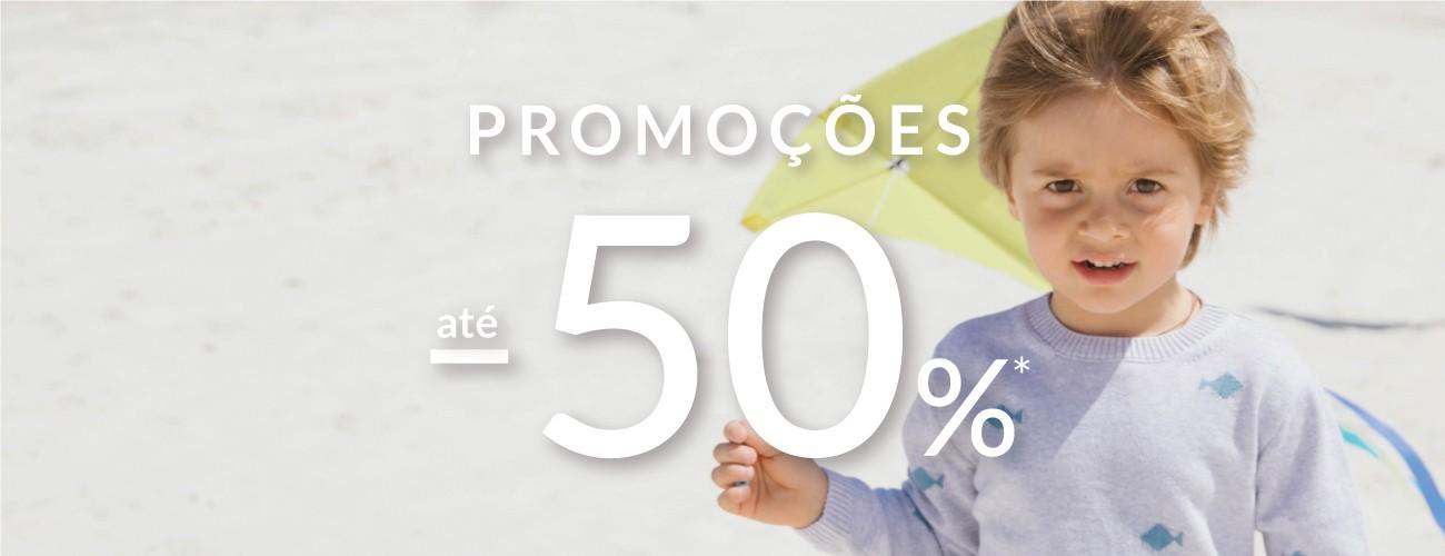 promoções de primavera até -50%