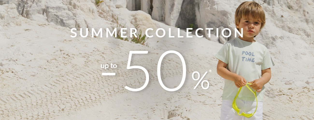 summer sales up to -50%