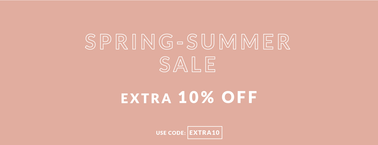 extra 10% off on summer promotions up to -50%