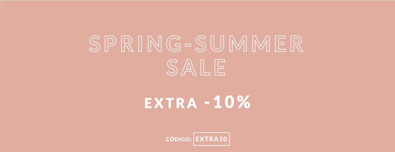 extra 10% nas promoções de verão até -50%