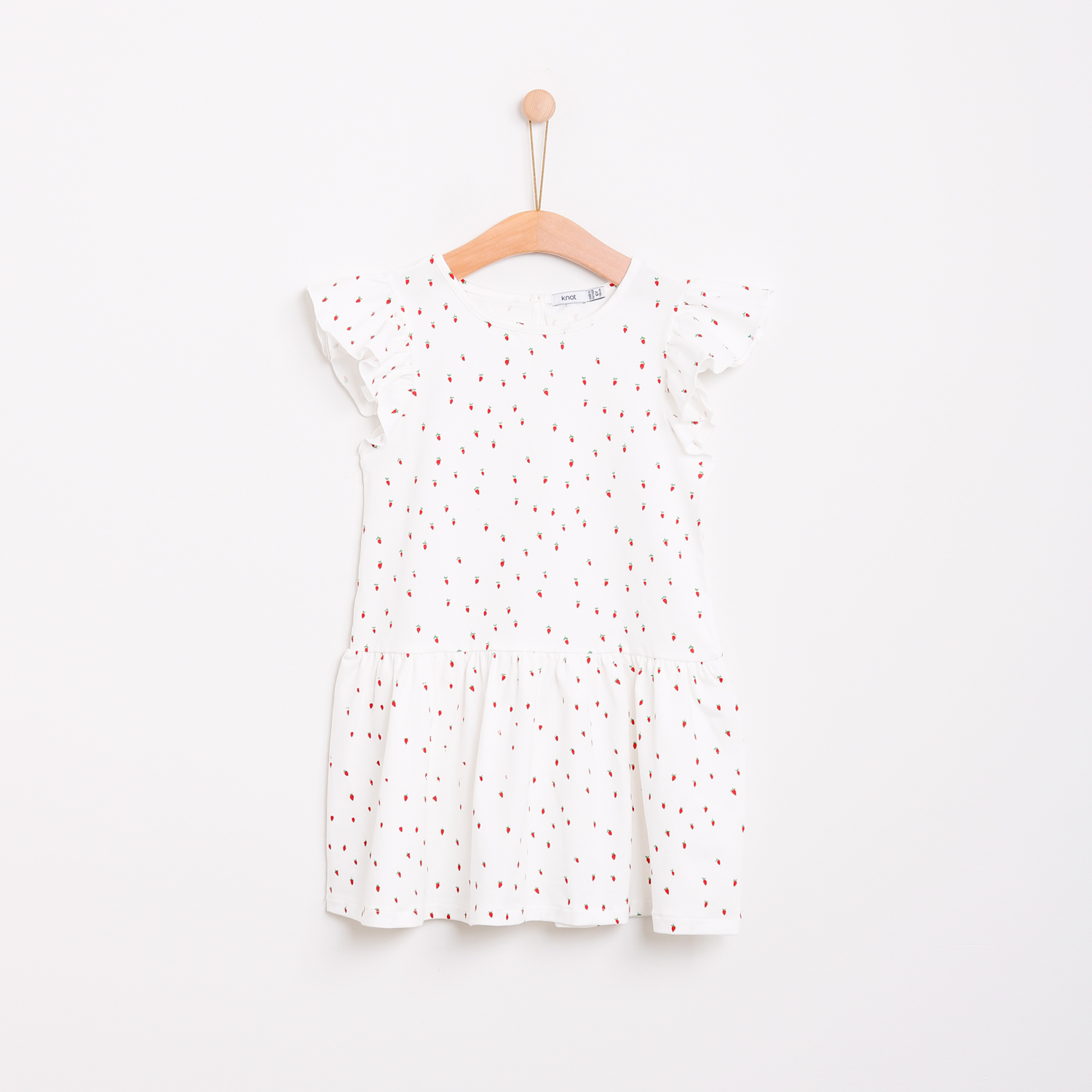 Vestido strawberry field