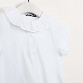 Timeless cotton baby polo