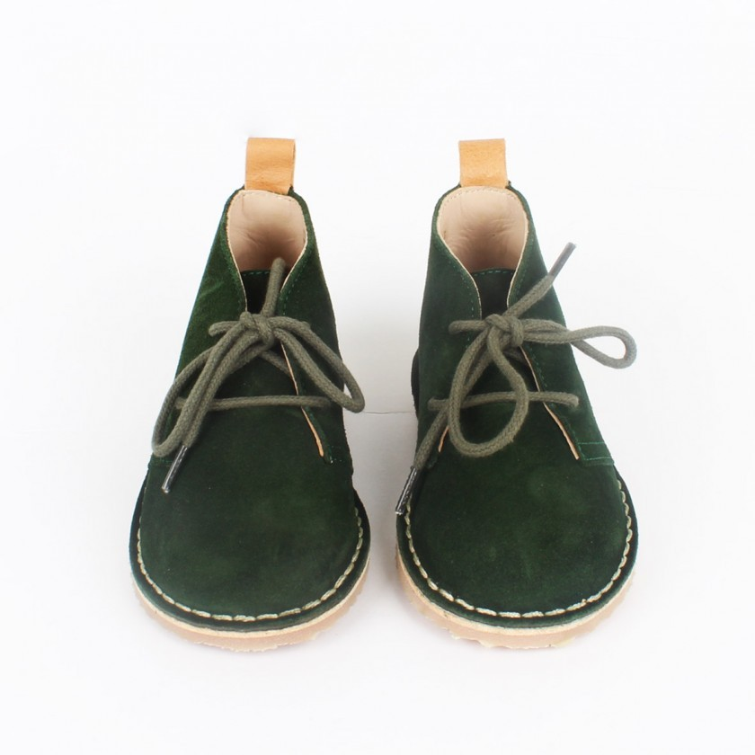 Botas deserto pine green