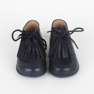 Fringed pre-walking boots