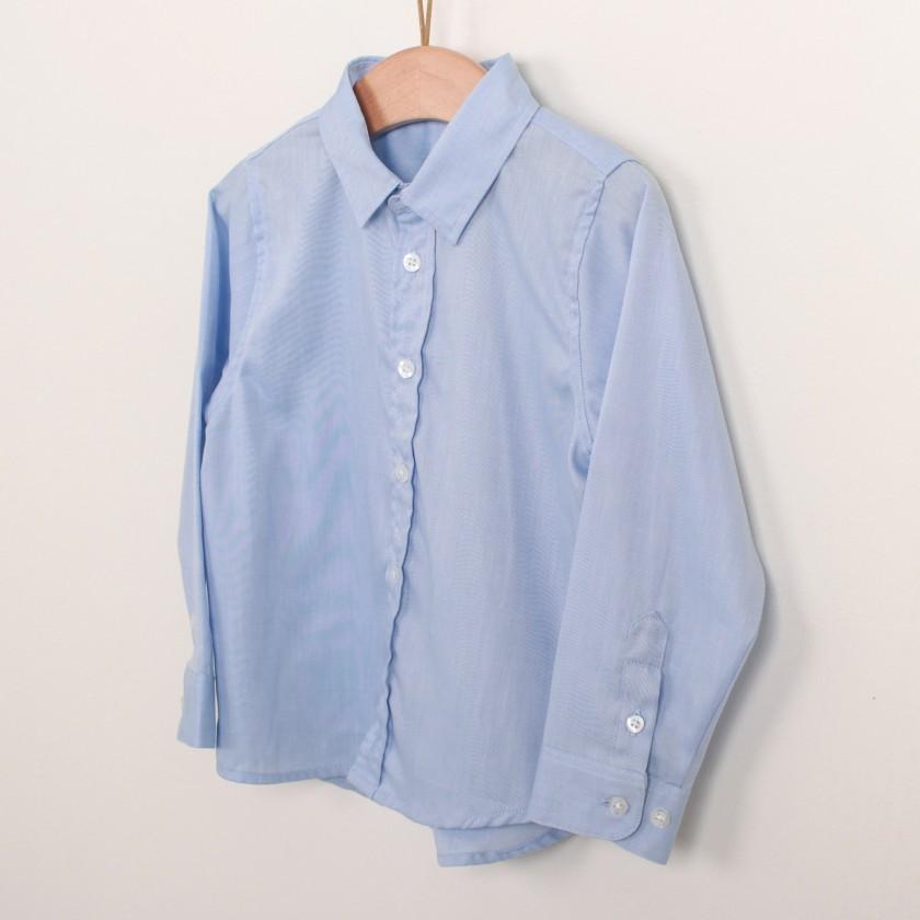 Camisa menino algodão Intemporal