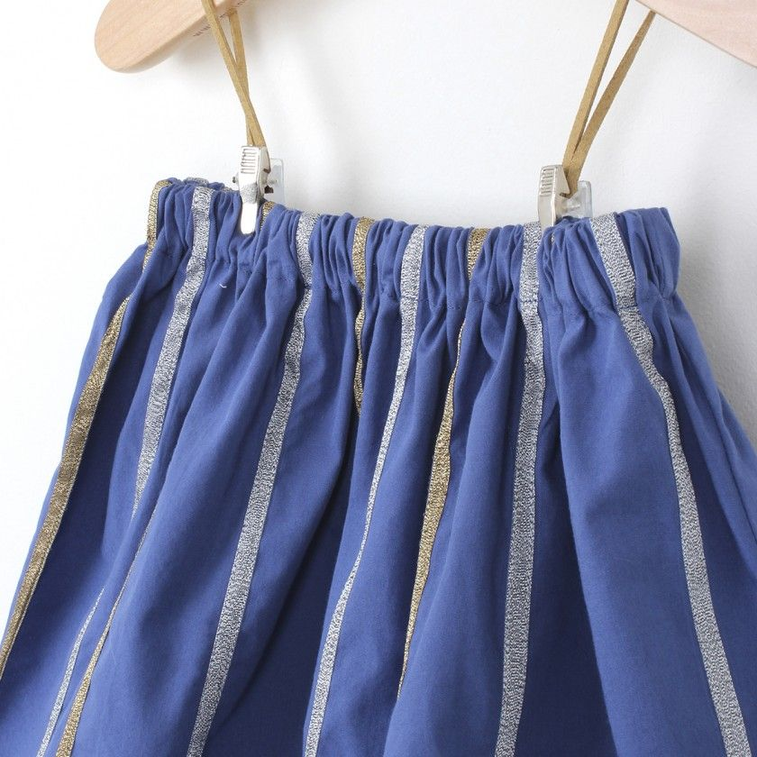 Popeline skirt