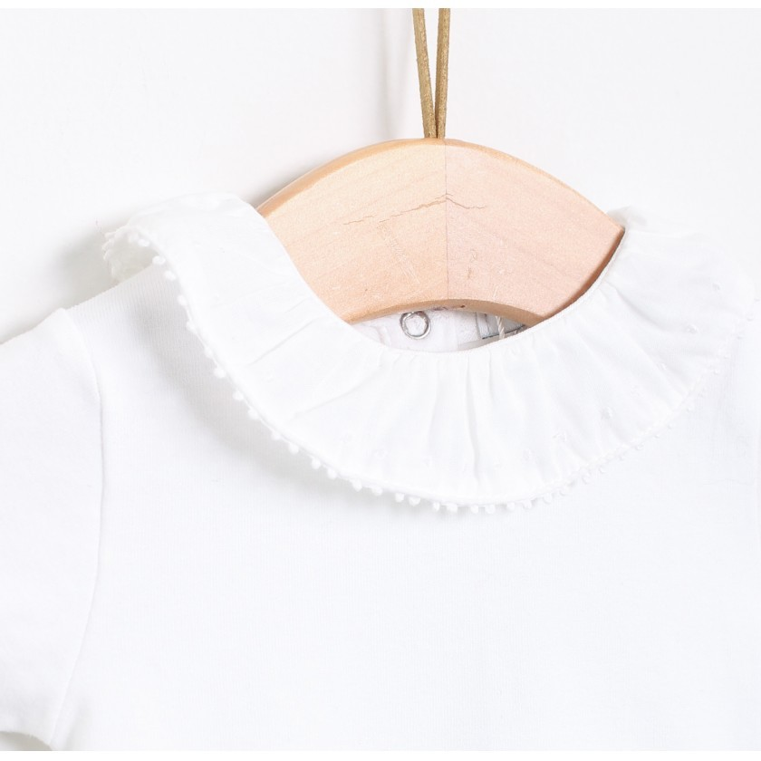 Long sleeve pierrot collar body