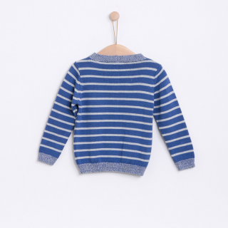 Endless wind stripes sweater