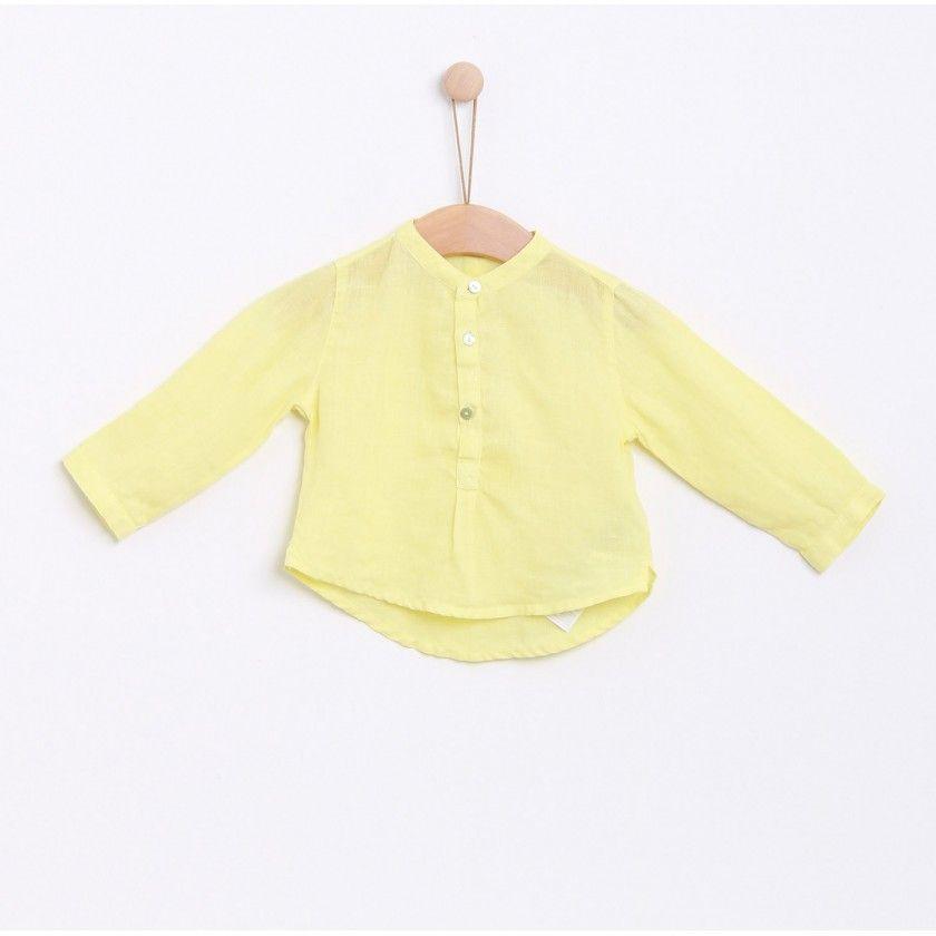 Linen tunic boy Pollen