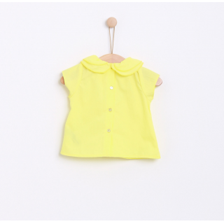 Pierrot collar blouse
