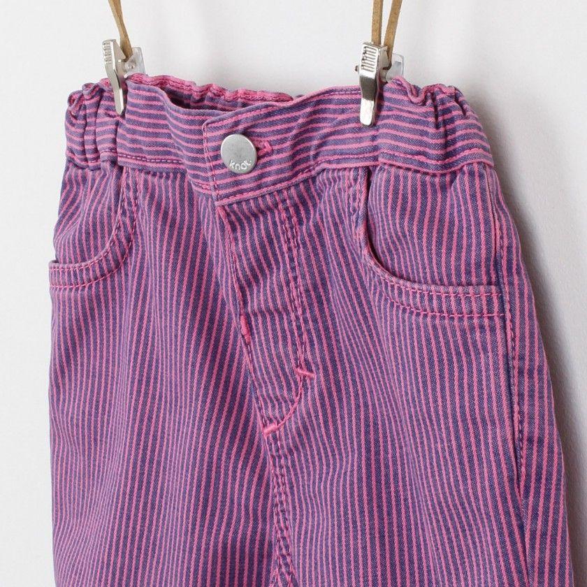 Earth stripes pants