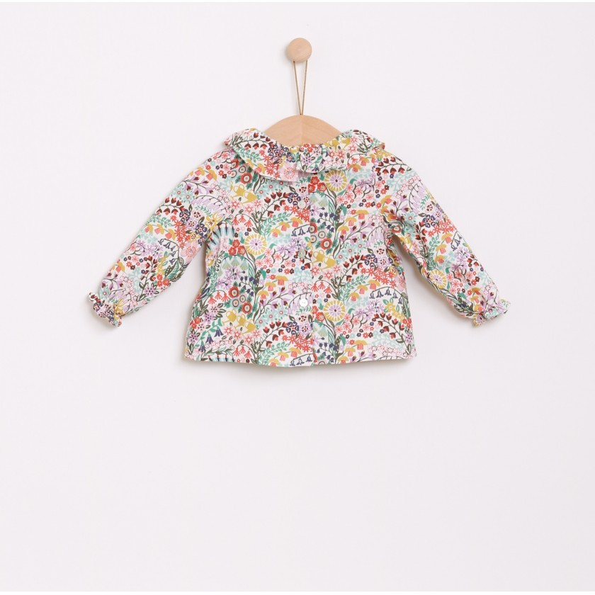 Flowers blouse