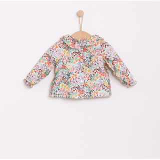 Flowers blouse