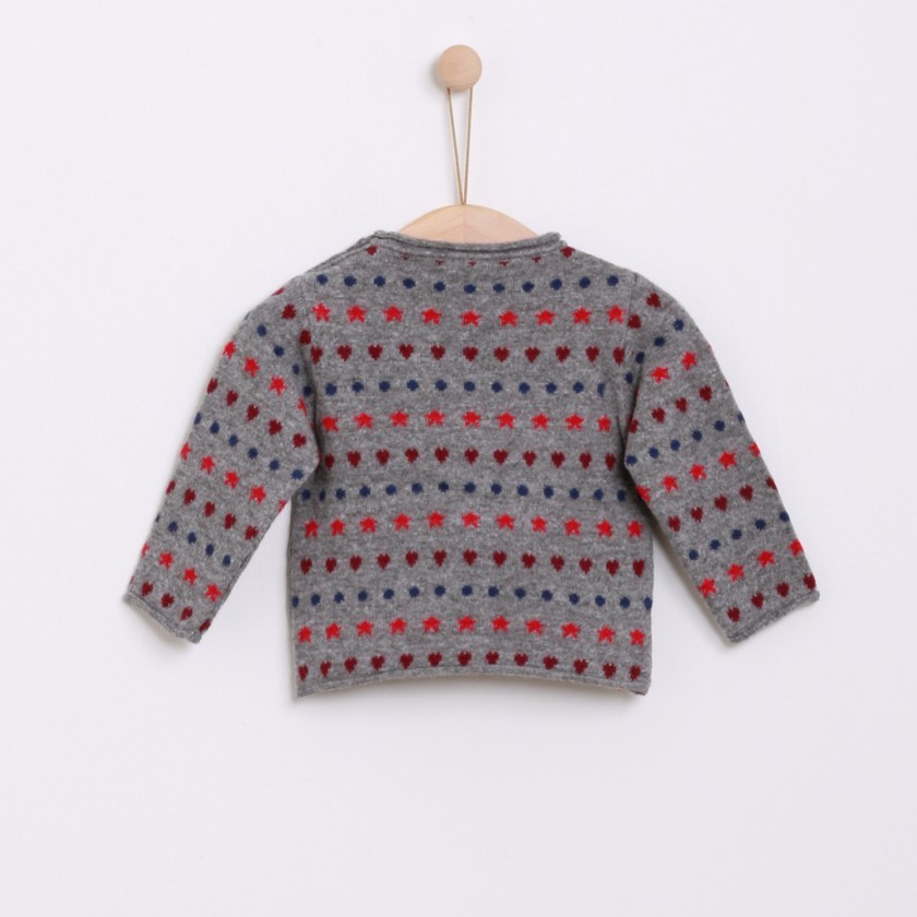 Stars and hearts jumper