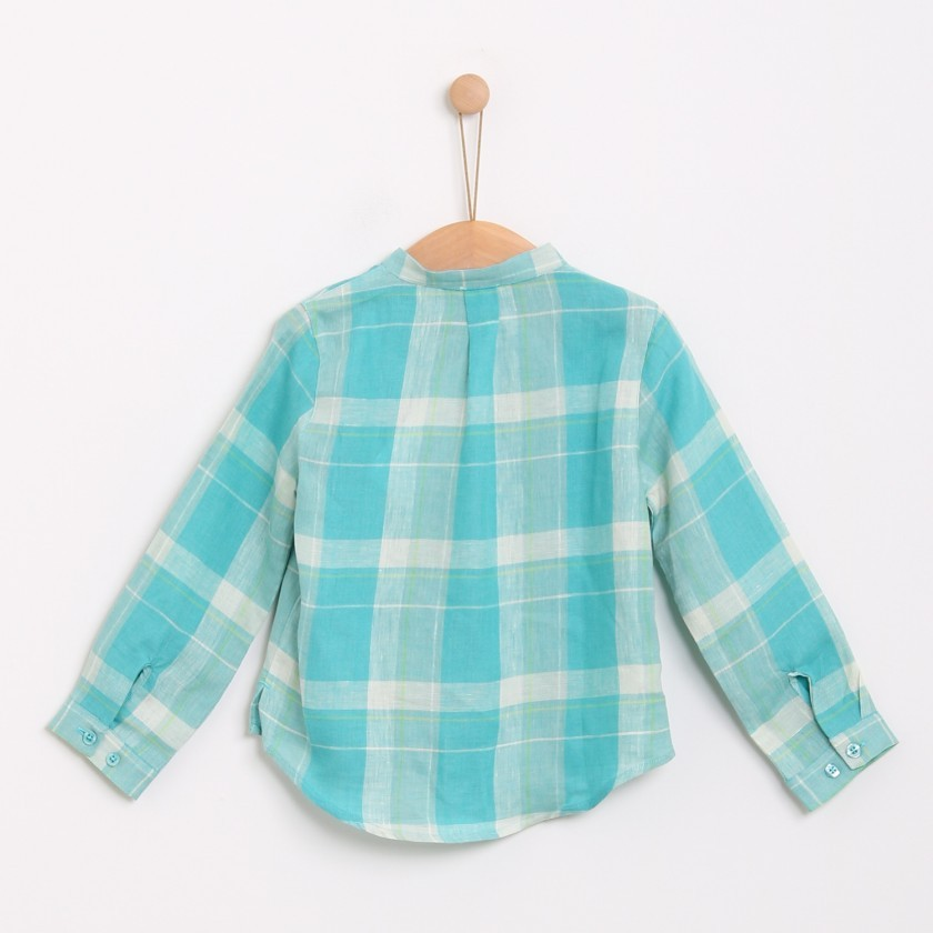 Cactus mermaid check tunic