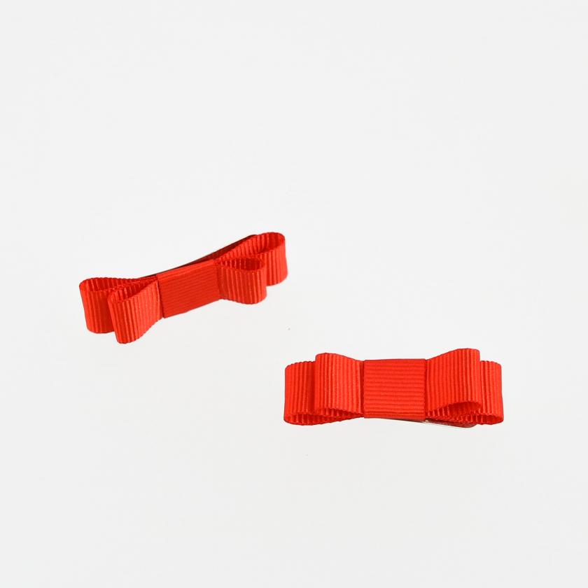 Conjunto de dois ganchos com laço mini em gorgorão