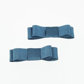 Conjunto de dois ganchos com laço pequeno em gorgorão