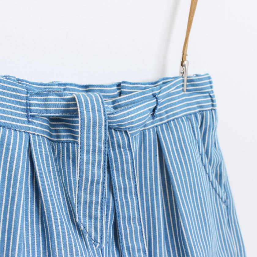 Fado striped shorts