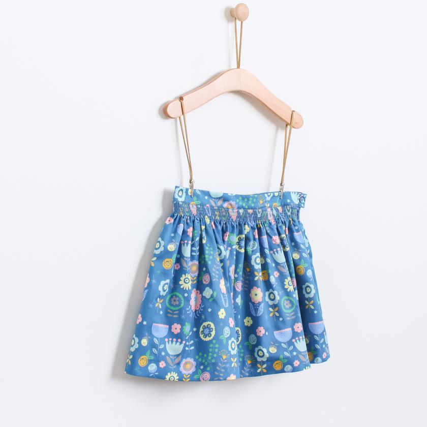 Folk flowers skirt