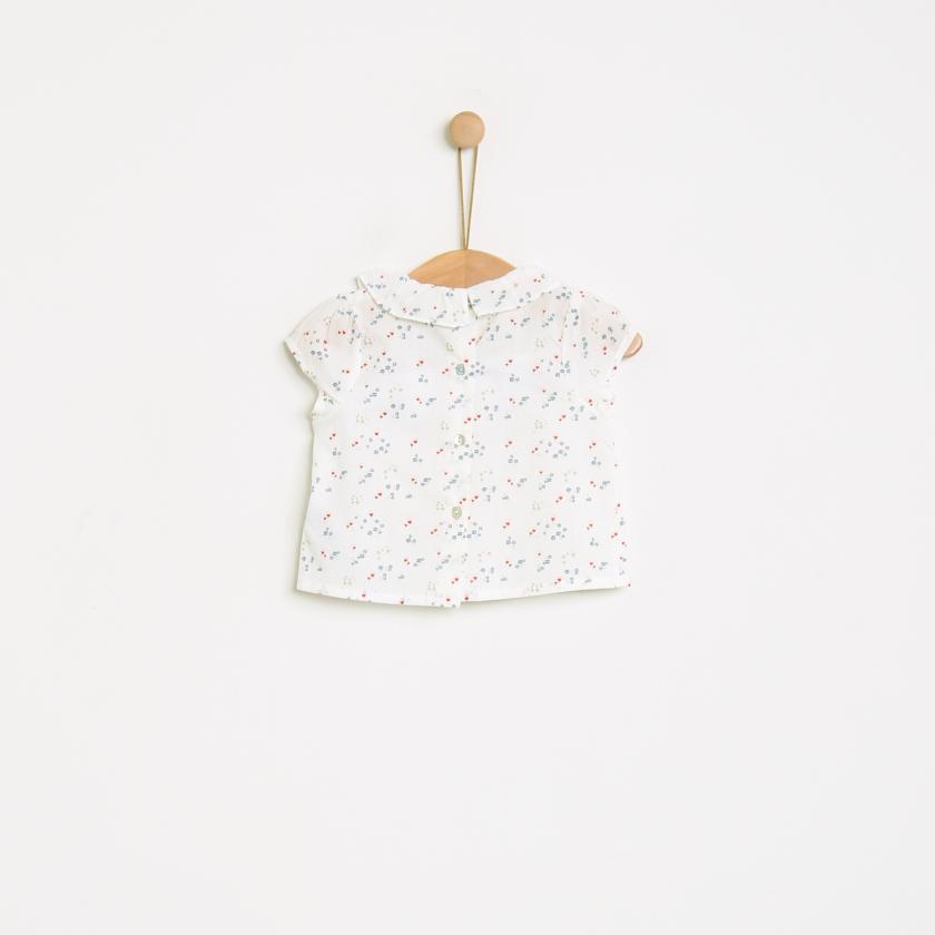 Saudade flowers blouse