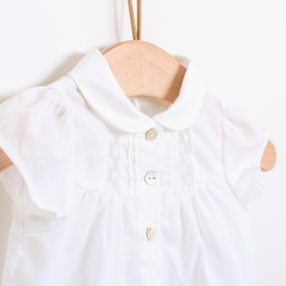Peterpan collar blouse