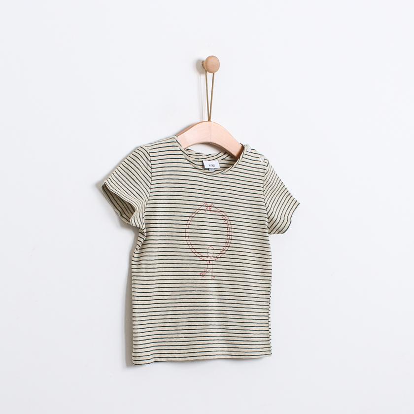 T-shirt dia da mãe menino (6-36m)