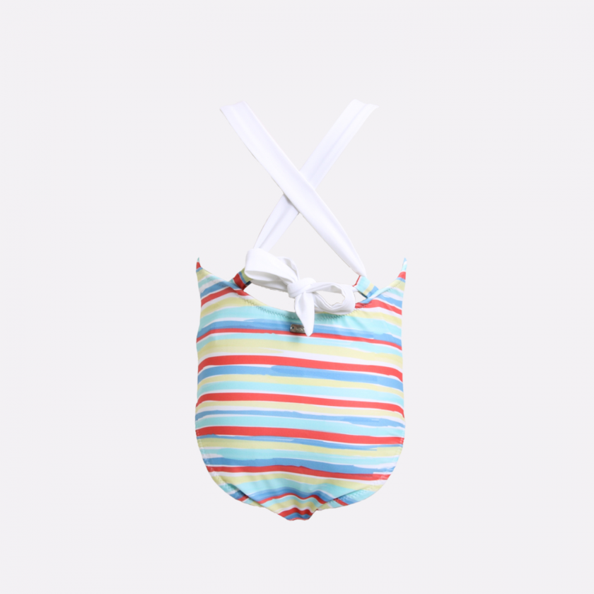 Country stripes swimsuit