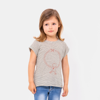T-shirt dia da mãe menina (4-12y)