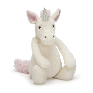 Peluche jellycat Unicornio medium Bashful