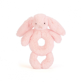 Peluche jellycat coelho rosa roca