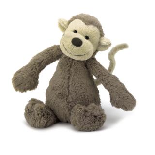 Peluche jellycat Macaco Bashful