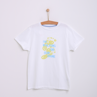 T-shirt walking on sunshine Adulto