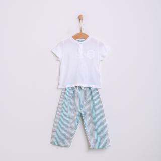 Pijama bebé algodão Fado