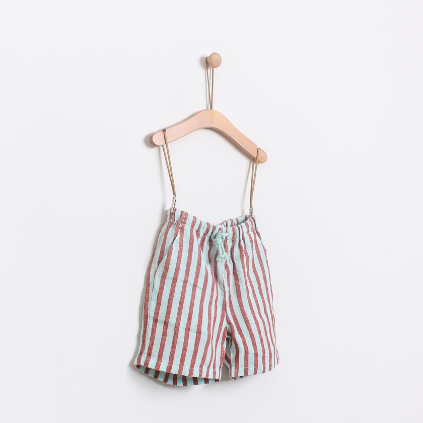 Beach stripes shorts