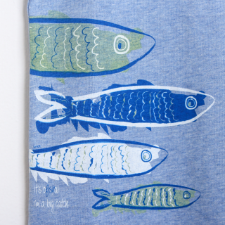 T-shirt peixes