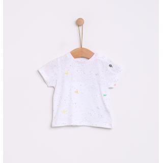 T-shirt micro bordado