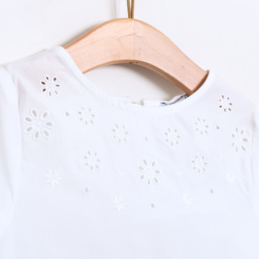 Blusa com bordados